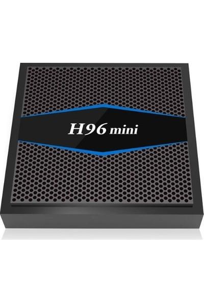 H96 Mini Tv Box Android Tv S905W 2Gb Ram + 16Gb Rom Bluetooth 4.0 2.4G + 5G Wifi 4K H.265 Kodı Medıa