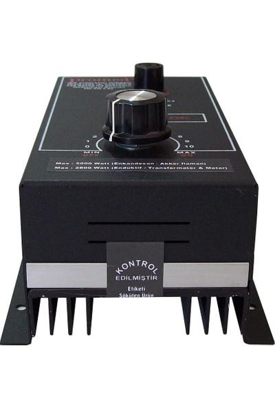 Promed Pano Tipi 5000 Watt Dimmer & Rezistans & Fan Motor Devir Kontrol