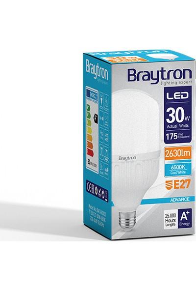 Braytron Led Ampül Normal Ampul Tipi E27 30W 6500K Beyaz Işık Braytron