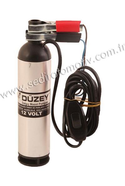 Düzey 12 Volt Mini Küçük Dalgıç Pompa (Mazot, Su, Süt