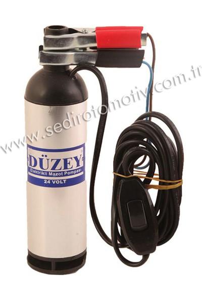 Düzey 24 Volt Büyük Dalgıç Pompa (Mazot, Su, Süt)