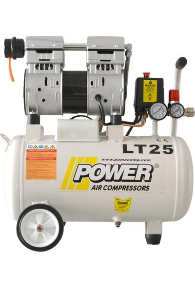 Power Sessiz Ve Yağsız Kompresör 24 Lt