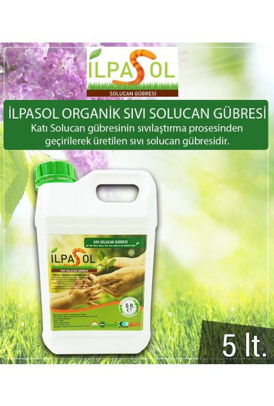İlpasol®Organik Sıvı Solucan Gübresi 5 Litre