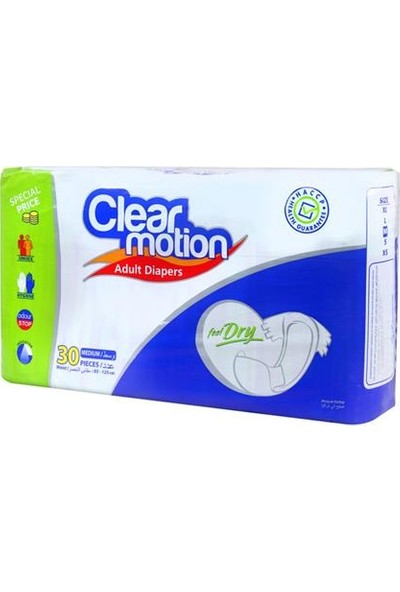 Clear Motion Hasta Bezi-Medium