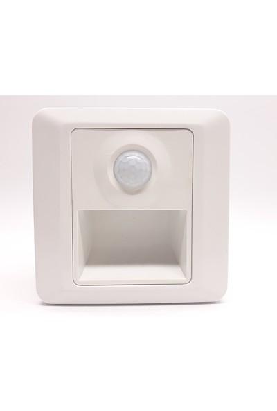 Cata 1W Sensörlü Fotoselli Koridor Aydınlatması Beyaz Ct-5170
