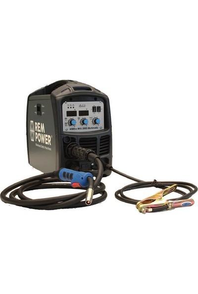Rempower Wmem Mıg 200 Mıg Mag Gazaltı Inverter Kaynak Makinası