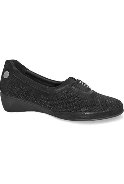 Mammamia D19Ya 195 Deri Kadın Ayakkabı Siyah