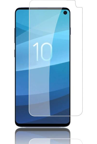 Case 4U Samsung Galaxy S10e Cam Ekran Koruyucu - Temperli Ekran Koruyucu Şeffaf