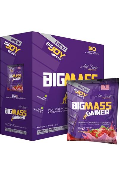 Big Joy Big Mass 5000 Gr 50 Saşe Çilek