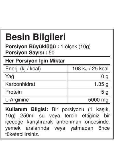 Big Joy L Arginine Powder 500 Gr Orman Meyveleri