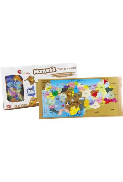 Birlik Oyuncak Manyetik Türkiye Haritası