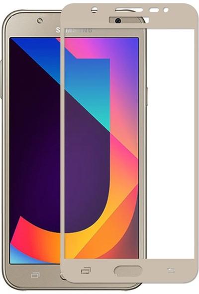 VPW Samsung Galaxy J7 Pro J730 (Ön) 5D Full Gold Nano Premium Dayanıklı Ekran Koruyucu