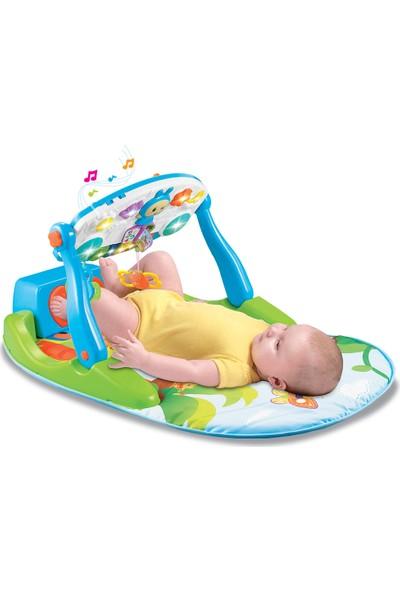 Babycim 5'i 1 Arada Pianolu Oyun Halısı