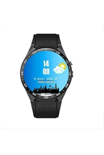 Kingwear Kw88 Akıllı Saat - Siyah