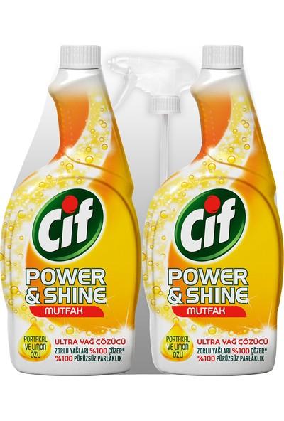 Cif Power&Shine Mutfak Sprey 2 x 750 ml