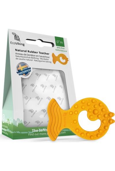 EcoViking Doğal Kauçuk Organik Bebek Diş Kaşıyıcı