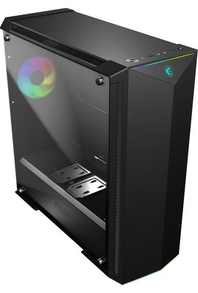MSI MPG Gungnir 100 Temperli Cam 1x A-RGB 3x 120mm Fan ATX Oyuncu Bilgisayar Kasası