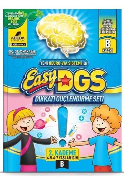 Easy Dikkati Güçlendirme Seti 4-7 Yaş B Kitapçığı - Osman Abalı