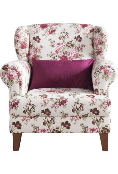 Hepsi Home Elegance Berjer-Çiçekli