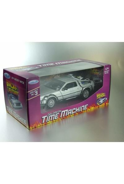 Geleceğe Dönüş Seri 1 Metal Model Araba Efsane Delorean 1:24Ölçek