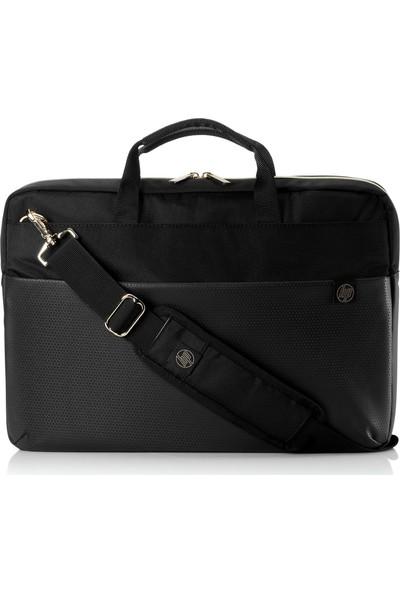 """HP 4QF94AA Duotone Briefcase 15.6"""" Notebook Çantası Siyah - Gold"""