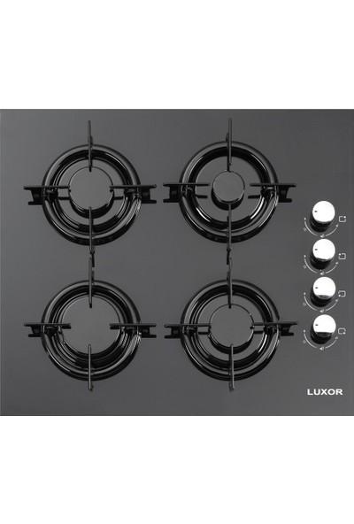 Kumtel Luxor Dokunmatik Siyah Cam Set 18-01
