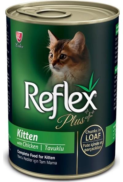 Reflex Plus Tavuklu Konserve Yavru Kedi Maması 400 gr x 24 Adet