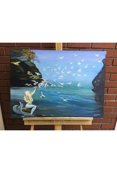 Zambak Deniz Kızı Çalışması