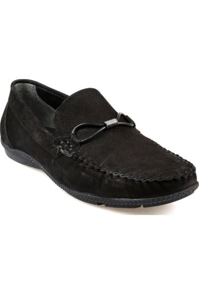 Fabıano Erkek Tımbırlent Rahat Siyah Günlük Ayakkabı