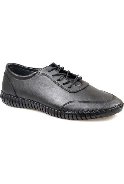 Fabıano Erkek Rahat Siyah Günlük Ayakkabı