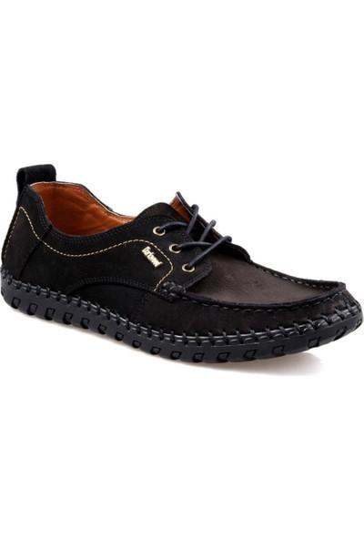 Darkwood 84100 Siyah Bağcıklı Günlük Erkek Ayakkabı