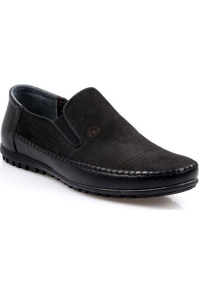 Tardelli Erkek Deri Siyah Günlük Ayakkabı