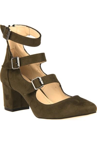 Ziya Kadın Ayakkabı 8139 7382 Haki