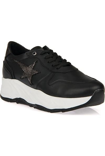 Uniquer Kadın Ayakkabı 9176U 1245 Siyah