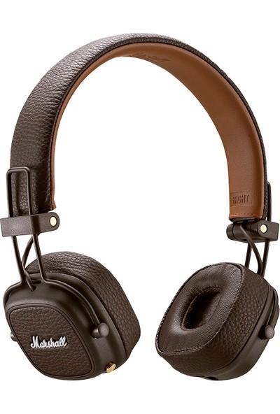 Marshall Major III Mikrofonlu Kablosuz Kulaküstü Kahverengi Kulaklık ZD.4092187
