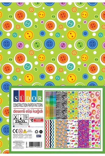 Südor Desenli Elişi Kağıdı 23X33 90 G 10 Desen Ek01