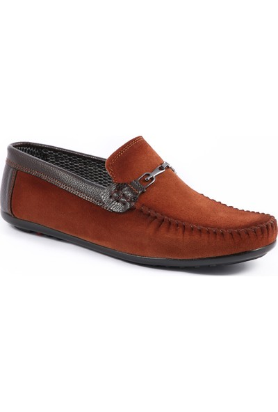 Muggo Men M3472 Süet Rok Erkek Ayakkabı