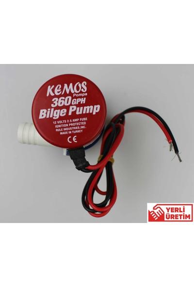 Bilge 360 12 Volt Sintine Pompası