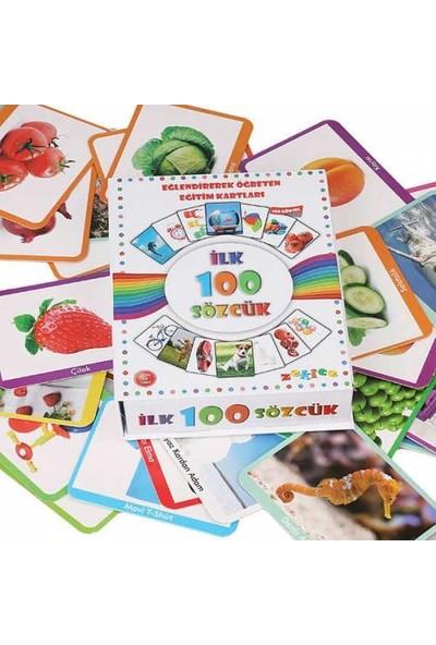 Zekice İlk 100 Sözcük - Büyük Boy Flash Cards -