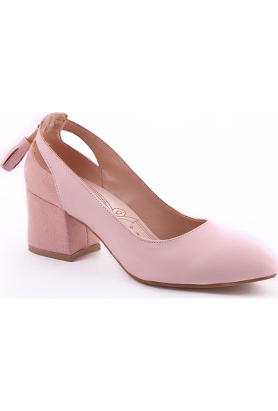 Muggo Women W1150 Orta Boy Topuklu Kadın Ayakkabı