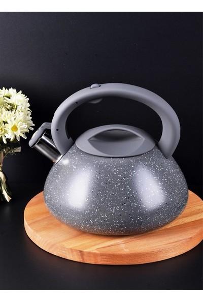 Bizim Banyo - Paçi Granit Düdüklü Tek Çaydanlık