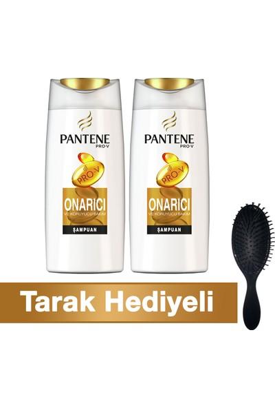 Pantene Şampuan Onarıcı ve Koruyucu Bakım 700 ml + 700 ml (Tarakhediyeli)