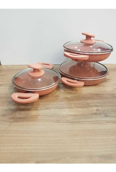 Essenso Promostar 6 Parça Granit Sahan Set