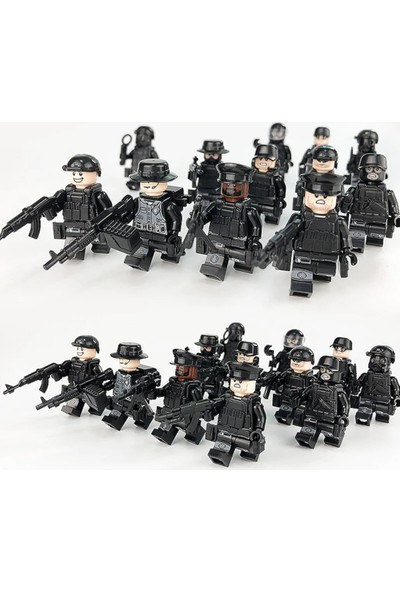 Lee Swat Polis Seti 12 Adet