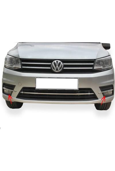 Turbo Aksesuar Volkswagen Caddy Krom Sis Farı Alt Çıtası 2 Prç. (2015-2016)