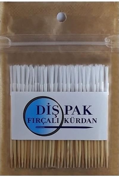 Dişpak Fırçalı Kürdan, Arayüz Fırçası, 1 Paket - 60 Adet