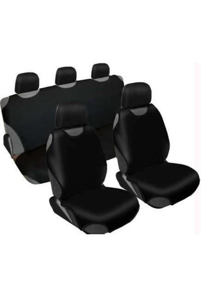 Otokuzey Atlet Kılıf Oto Koltuk Kılıfı Siyah Atlet Model Ön Ve Arka Set Hediyeli