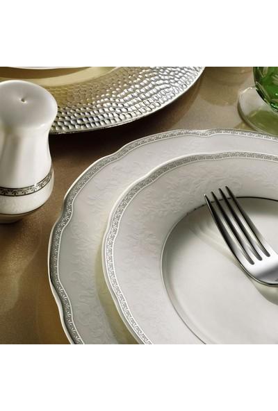 Kütahya Porselen Bone Olympos 53 Parça 9824 Desenli Yemek Takımı