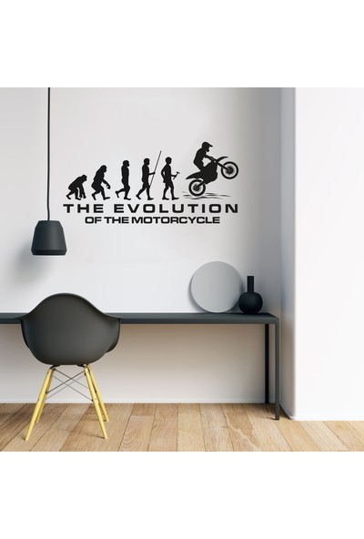 MotoCross Duvar Sticker