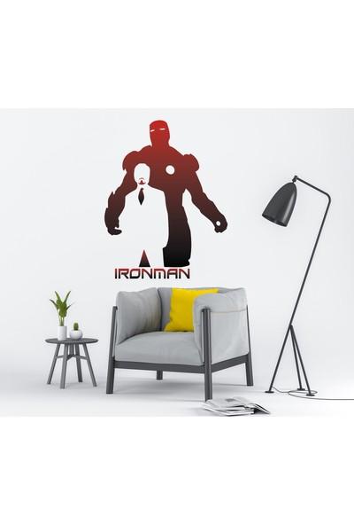 Ironman & Tonny Stark Renkli Duvar Kağıdı